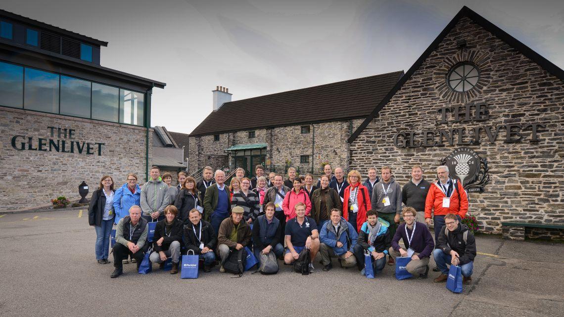Glenlivet Distillery Journalist visit 2016