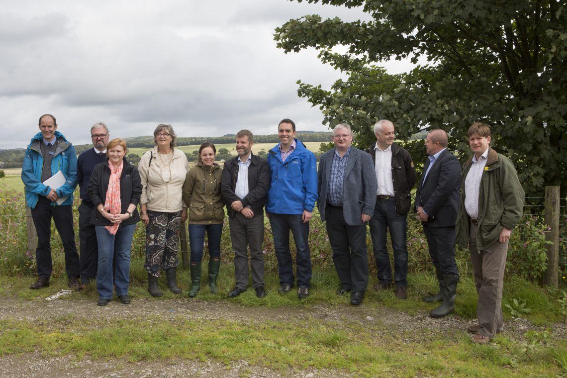 Environment, Climate Change & Land Reform Committee visit to Applegirth Estate